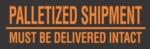 #DL3161  3×10″  Palletized Shipment (Black/Orange) Label $36.82/piece