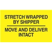 #DL3172  3×5″  Stretch Wrapped by Shipper / Move and Deliver Intact Label $13.91/piece