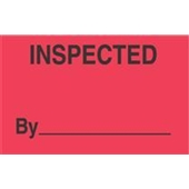 #DL3281  3×5″  Inspected By  _____ Label $13.91/piece