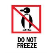 #DL4020  3×4″  Do Not Freeze (Penguin) Label $13.91/piece