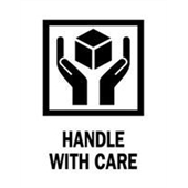 #DL4160  3×4″  Handle with Care Label $13.91/piece