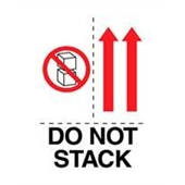 #DL4481  3×4″   Do Not Stack (Boxes,Arrows) Label $13.91/piece