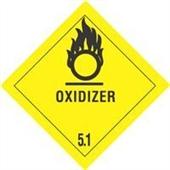 #DL5160  4×4″  Oxidizer – Hazard Class 5 Label $14.88/piece