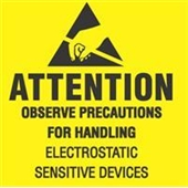 """#DL9080  2×2 """"  Attention Observe Precautions for Handling Label $10.25/piece"""