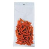 2×8″ 2 Mil Hang Hole Reclosable Poly Bag (1000/Case) $17.64/piece