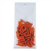 6×12″ 2 Mil Hang Hole Reclosable Poly Bag (1000/Case) $48.72/piece