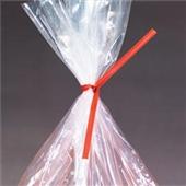 6″x3/16″ Red Paper Twist Ties (1000/bag) $9.07/piece