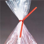 8″x3/16″ White Paper Twist Ties (1000/bag) $11.45/piece