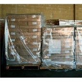 68x65x87″ 3 Mil Clear Pallet Covers/Bin Liners (50/roll) $365.81/piece