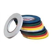 3/8″x180 Yds. Red Bag Tapes (96 rolls/case) $226.85/piece