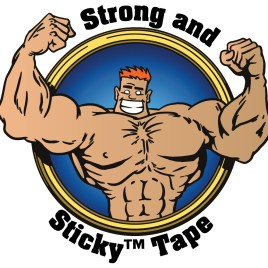 3″x1000 yds. 1.9 Mil Strong and Sticky™ Clear Hot Melt Carton Sealing Tape (4/Case) $99.03/piece