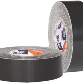 2″x36 yds. (48mmx33m) 17 Mil Black Bottom Board Tape (24/Case) $318.06/piece