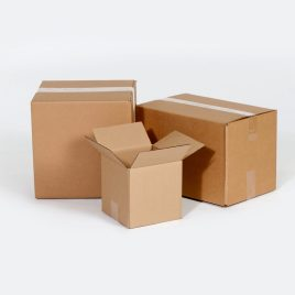8 3/4×4 3/8×9 1/2  32ECT Master Carton holds 4-Pack of 4x4x4 Boxes Buy the Bale for $0.32/piece