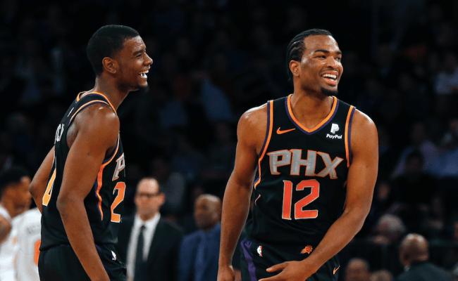Tj Warren Scores 26 In Suns 128 110 Victory Over Knicks