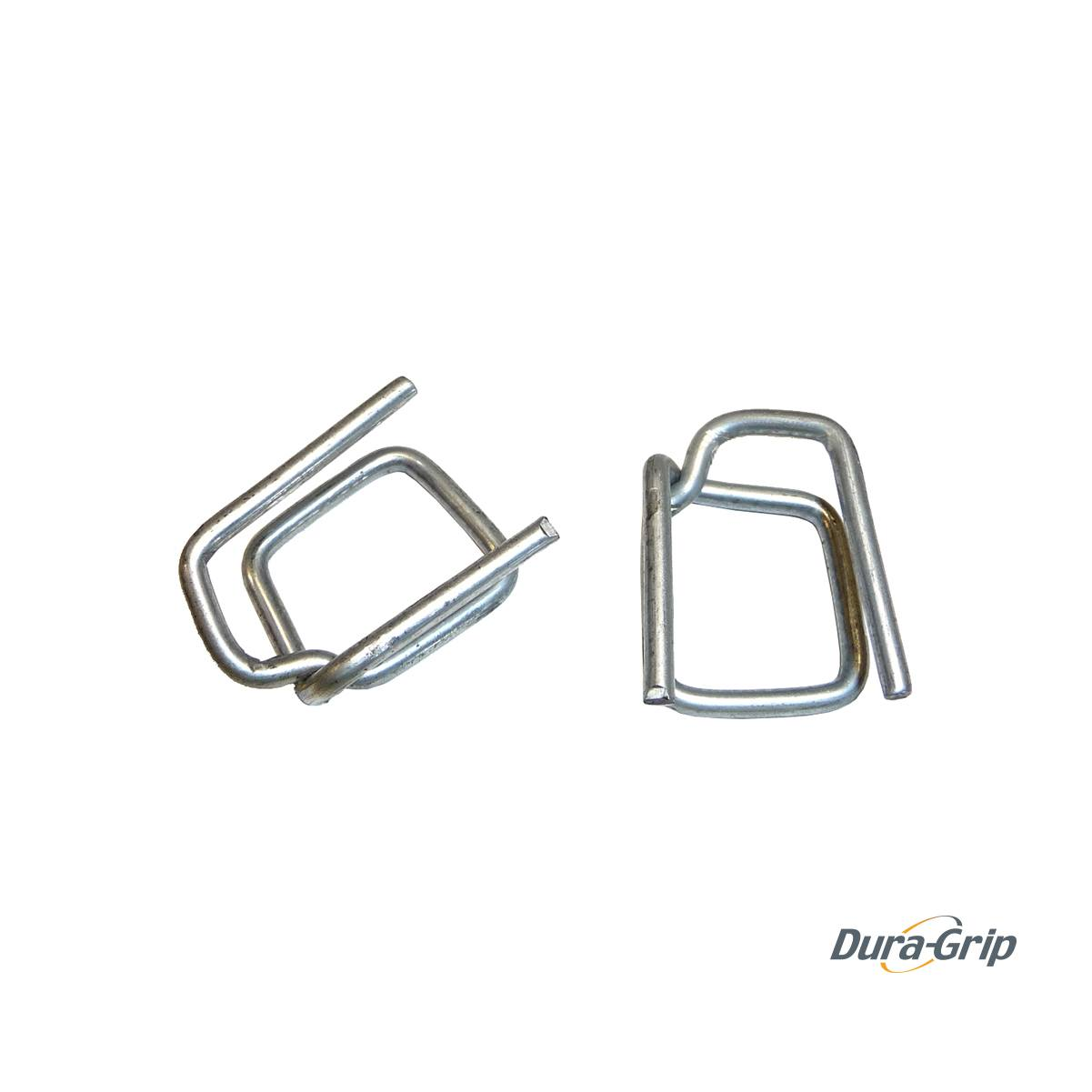 Wire Buckles for 19 mm PP (Galvanised) Dura-Grip PWG-6G