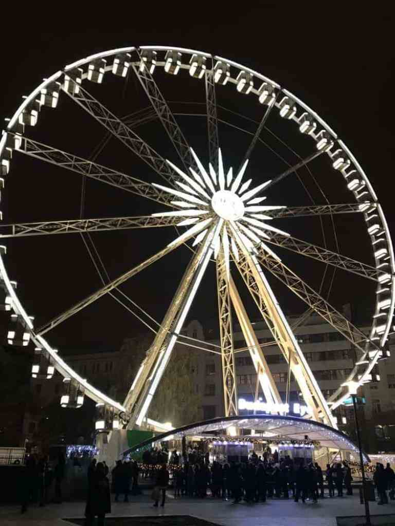 Budapest Eye 2018-A Ferris Wheel on Erzsebet Square, Hungary