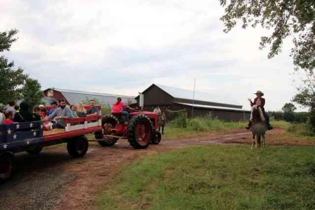 Cox Farms Tractor Hay Ride