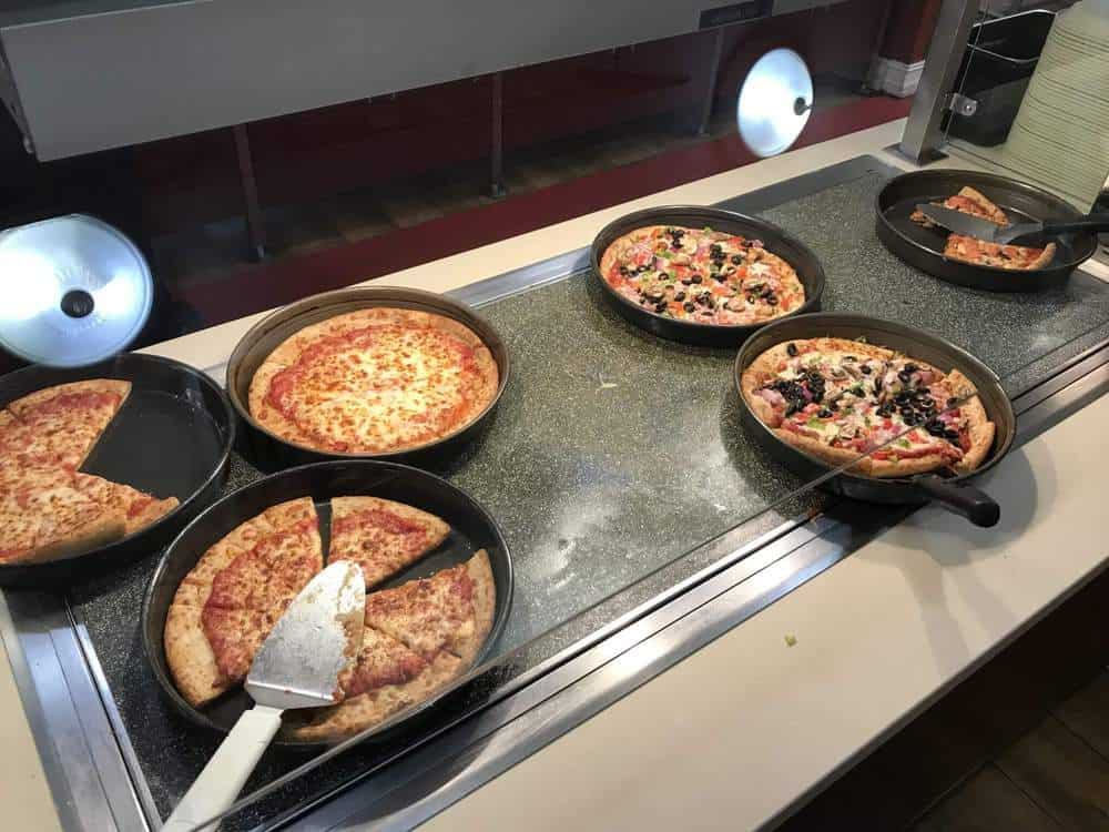 Pizza and Pasta Buffet at the Legoland Florida