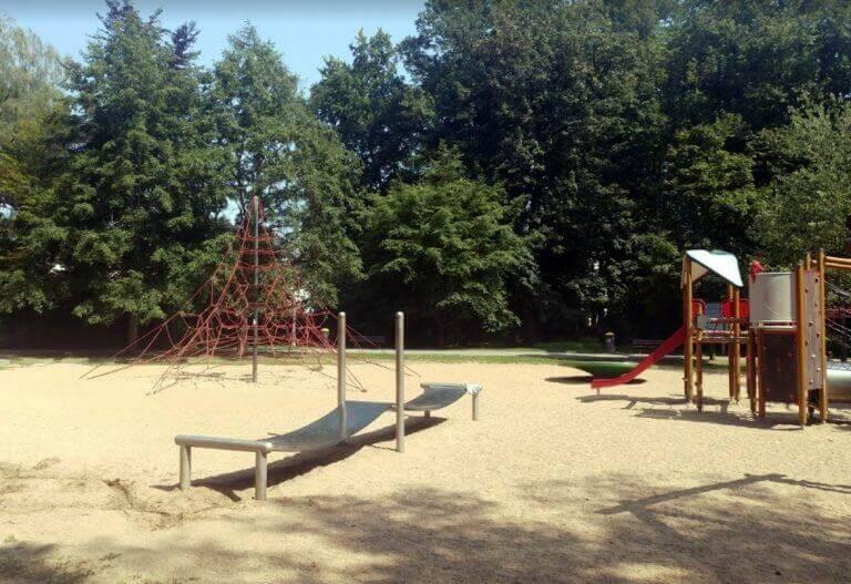 Stadt Park playground near Stuttgart Germany