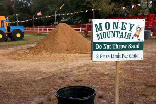 Burke Nursery Pumpkin Playground Money Mountain