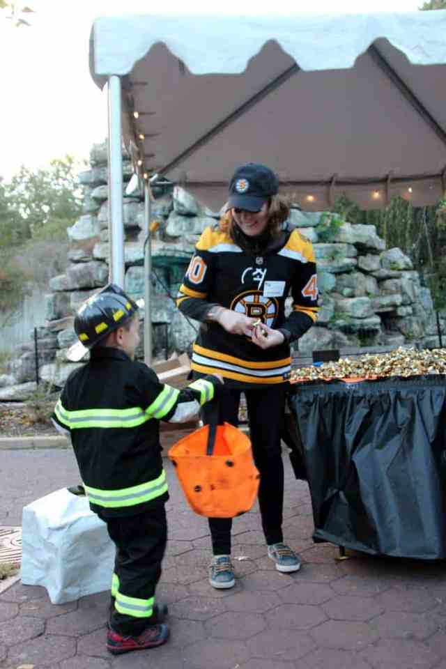 national zoo dc Boo at the Zoo Treat Stations