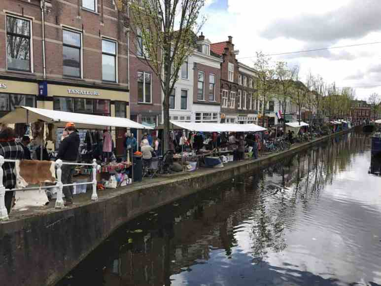 Delft, Netherlands Kings Day