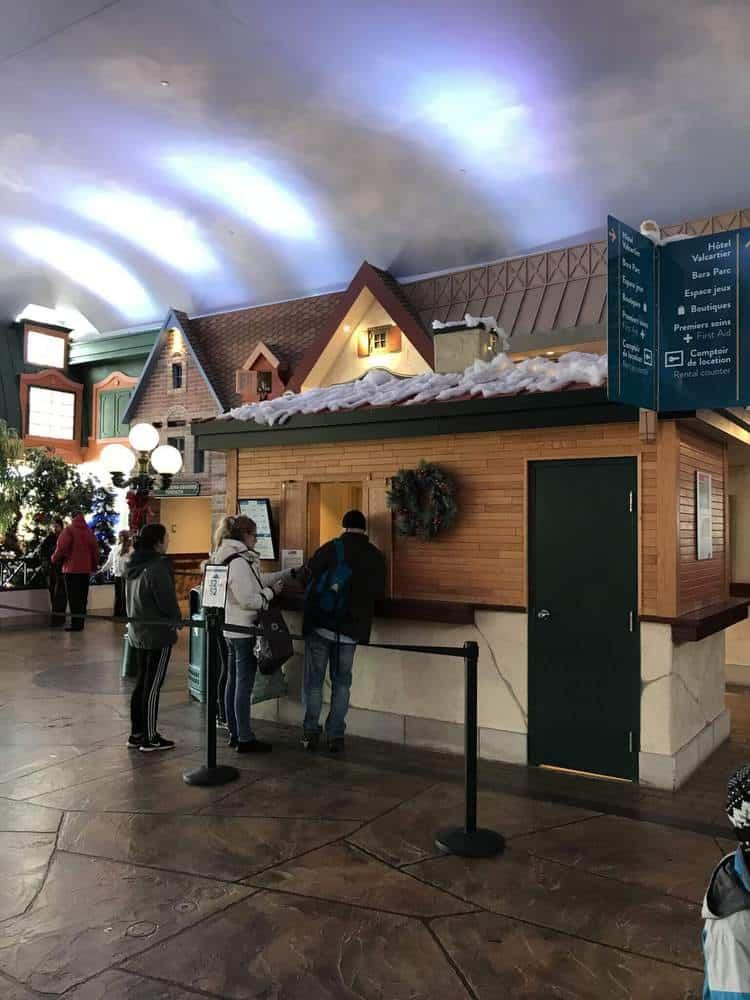 Village Vacances Valcartier Quebec, Canada ticket area