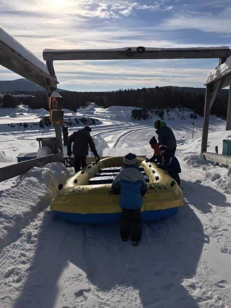 Village Vacances Valcartier Quebec, Canada raft style tubing