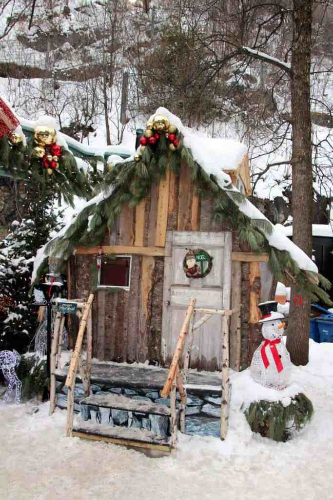 Santa comes to Quebec City Canada