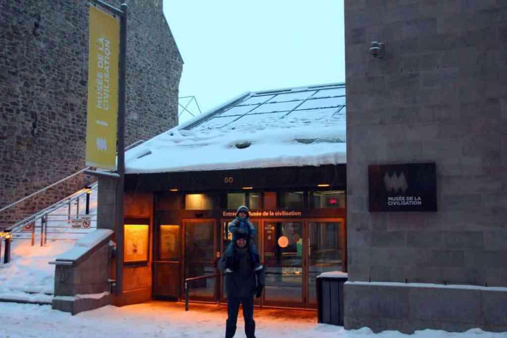 Museum of Civilization in Old Quebec City Canada