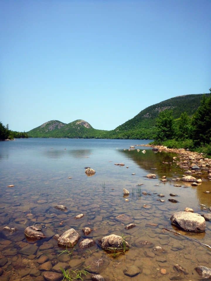Views from the Jordan Pond Trail, Acadia National Park