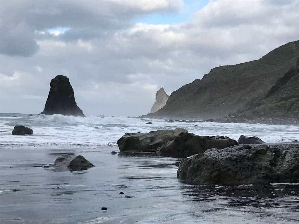 playa de benijo playa del roque de las bodegas