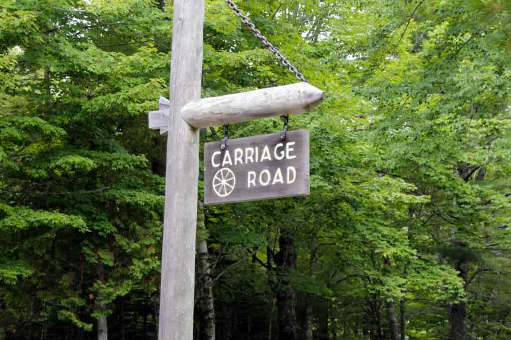 Carriage Roads in Acadia National Park in Maine