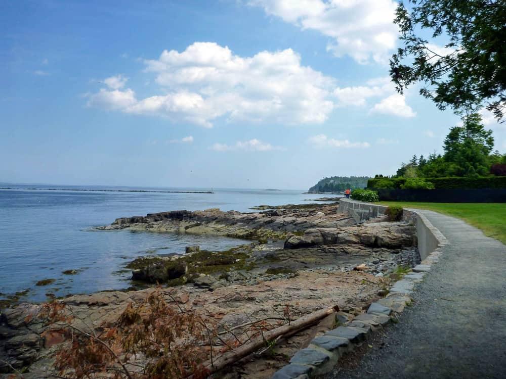 Bar Harbor, Maine Ocean Trail