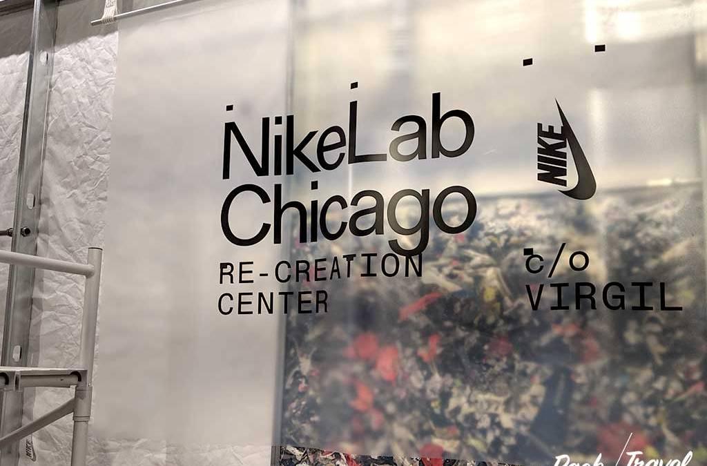 NikeLab Chicago Re-Creation Center 芝加哥 NIKE 再造實驗室