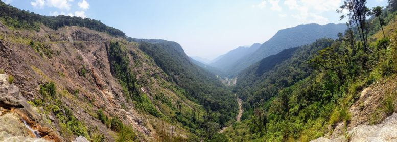 Spectacular valley on the way to Nha Trang