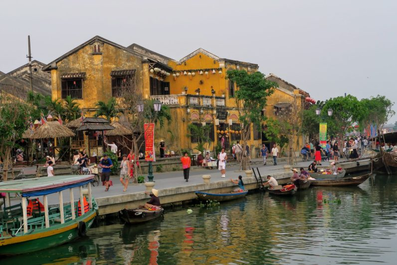 Old port in Hoi An