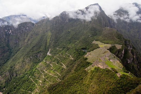 View of Machu Picchu from Huayna Picchu