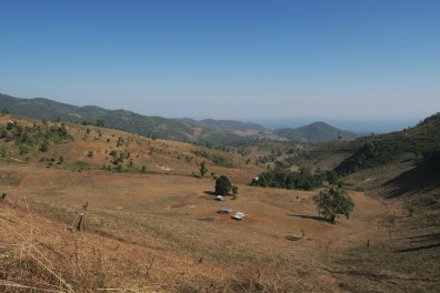 Hills in Shan state