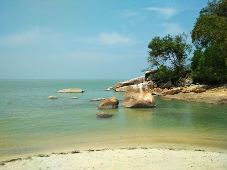 Beach in Penang National Park