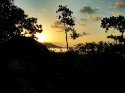Sunset in Magnetic island