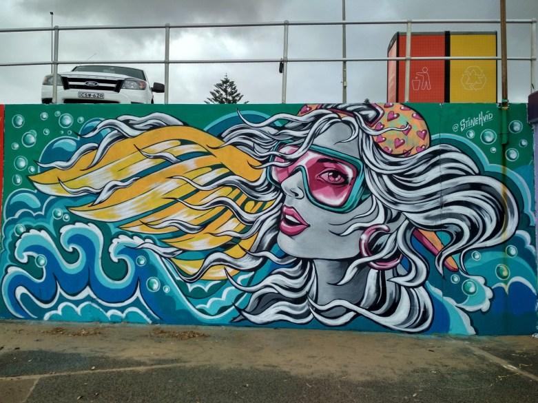 Graffiti in Bondi Beach