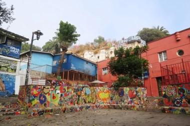 Heart square in Valparaiso