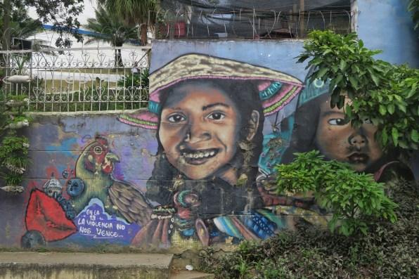 Graffiti in Communa 13