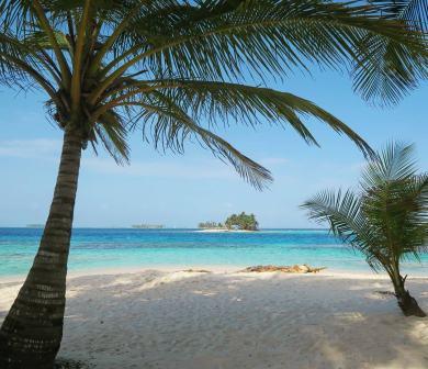 Beach in San Blas