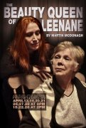 The postcard advertising NLT's production of 'The Beauty Queen of Leenane'