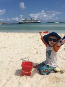 Disney Cruise Line Castaway Cay family vacation