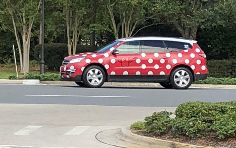 Minnie Van at Walt Disney World