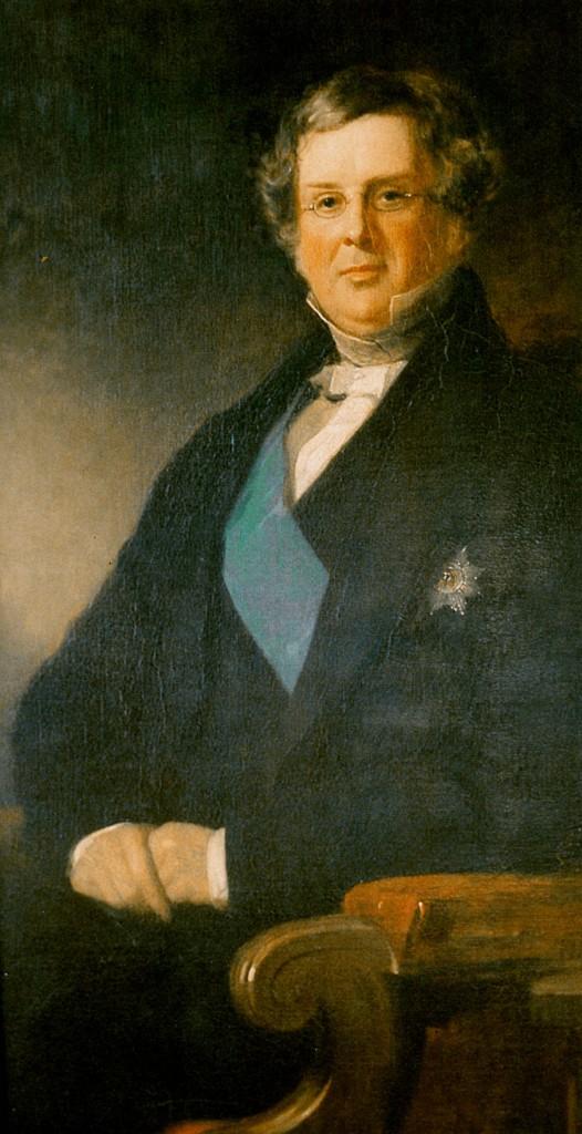 Retrato de Willam Parsons, Earl of Rosse. Crédito: Wikimedia Commons