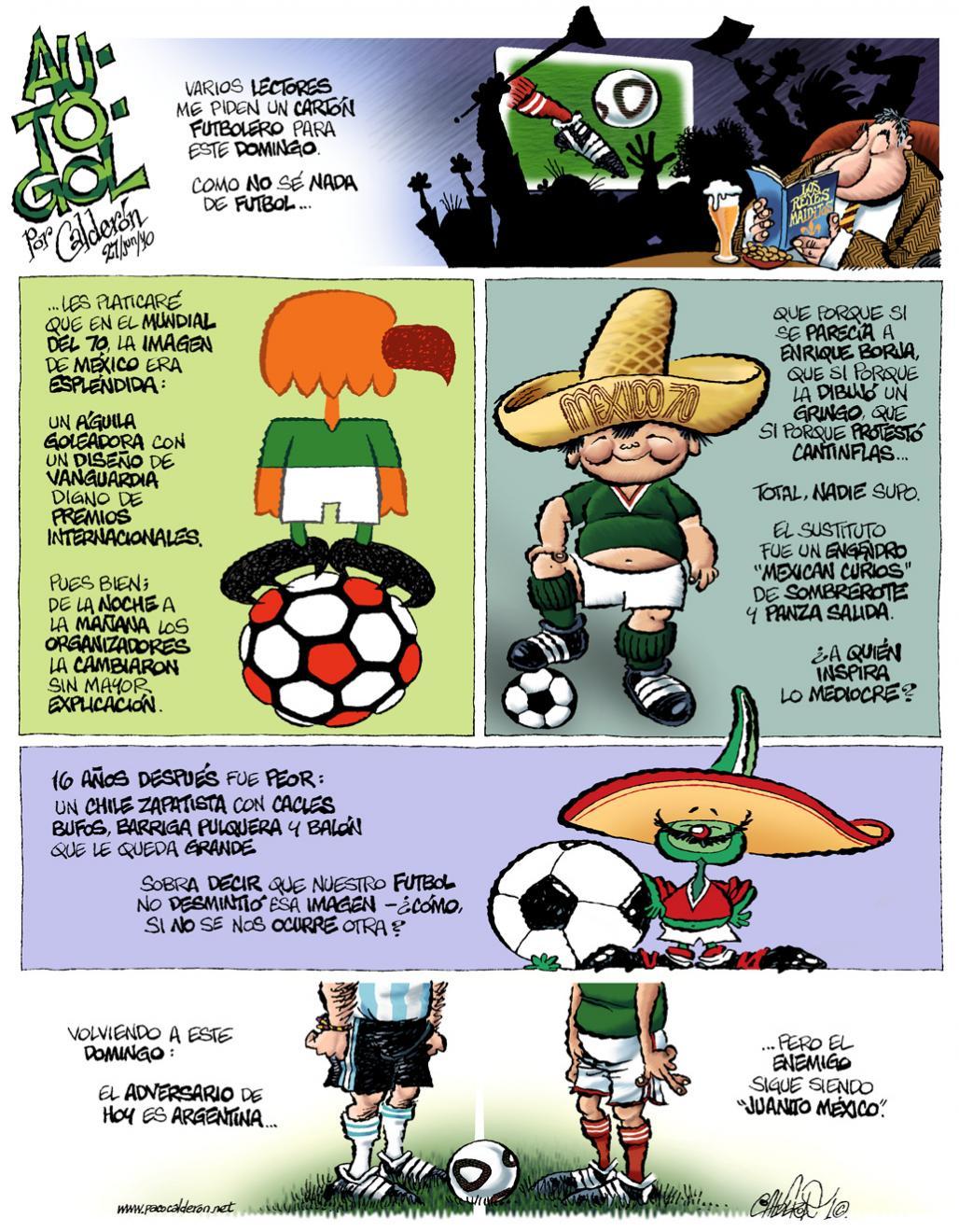 Au-to-gol - Calderón